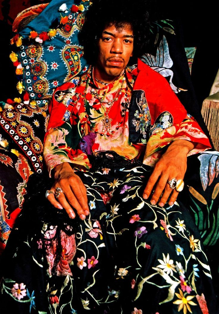 Jimi Hendrix • @HVLAUREN: