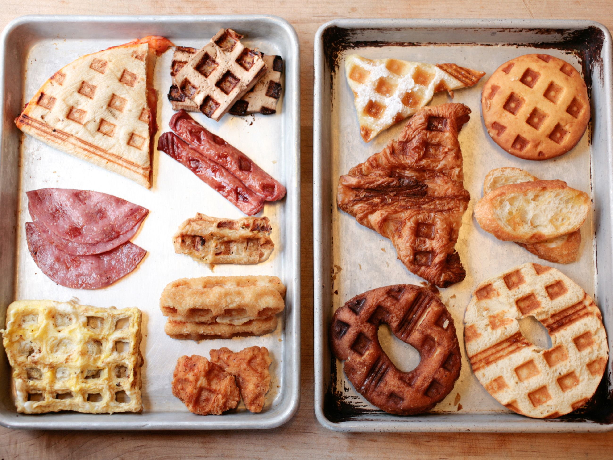 Waffle Food Network Kitchens' Iron Hits And Misses Waffles