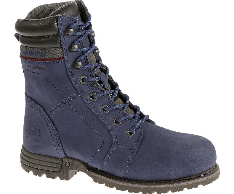 Women - Echo Waterproof Steel Toe Work Boot - Marlin | CAT Footwear