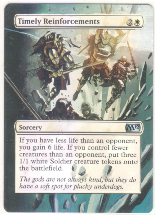 Magic timely reinforcements m12