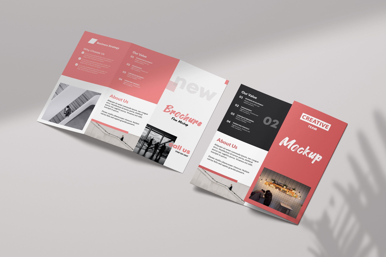 Free Tri Fold Brochure Mockup Vol2 Pixelsdesign Trifold Brochure Brochure Mockup Psd Trifold Brochure Design