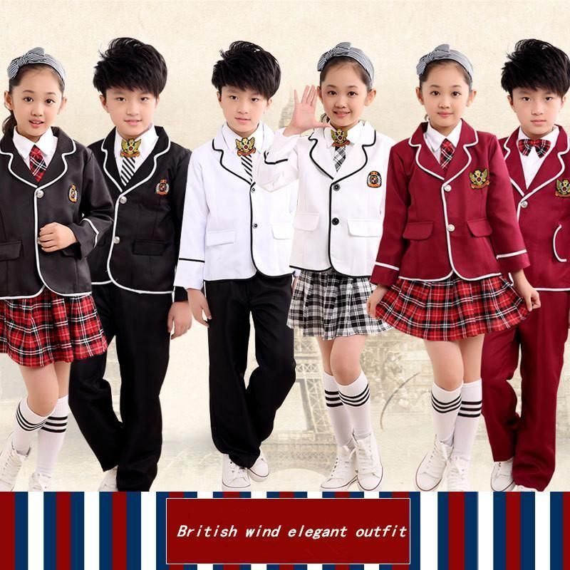 Children S Boys And Girls School Uniform Cosplay Anime
