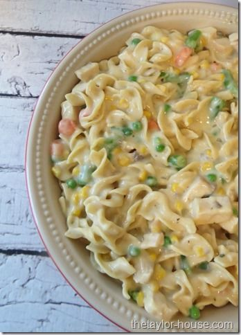 Chicken Noodle Casserole {The Perfect Comfort Food