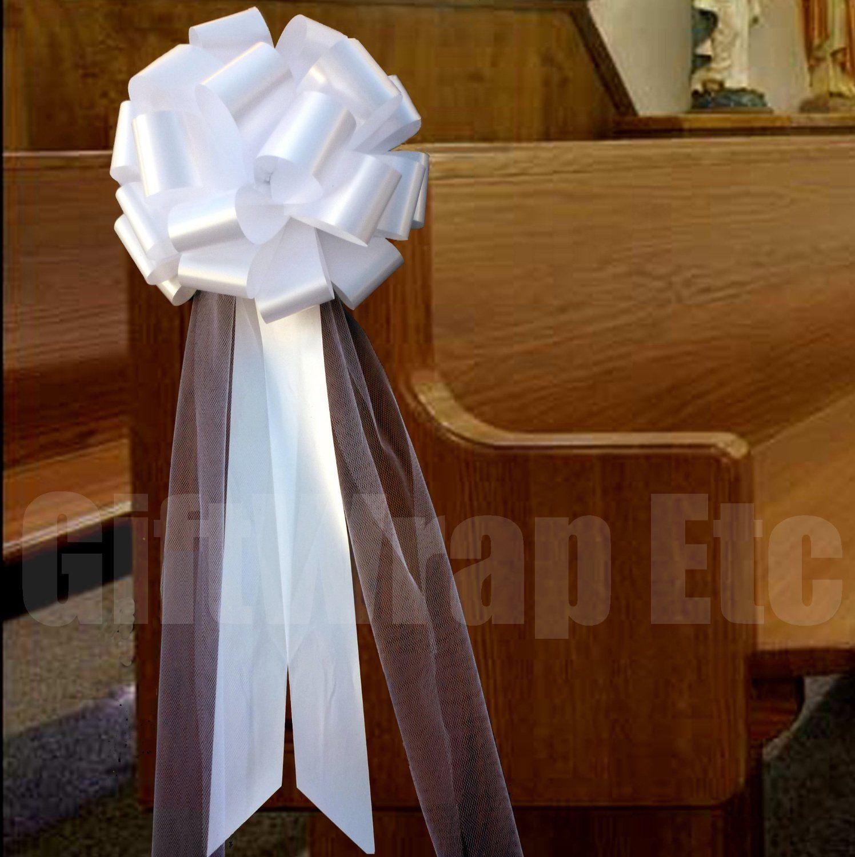 Pew wedding decorations pew decorations pinterest pew pew wedding decorations junglespirit Images