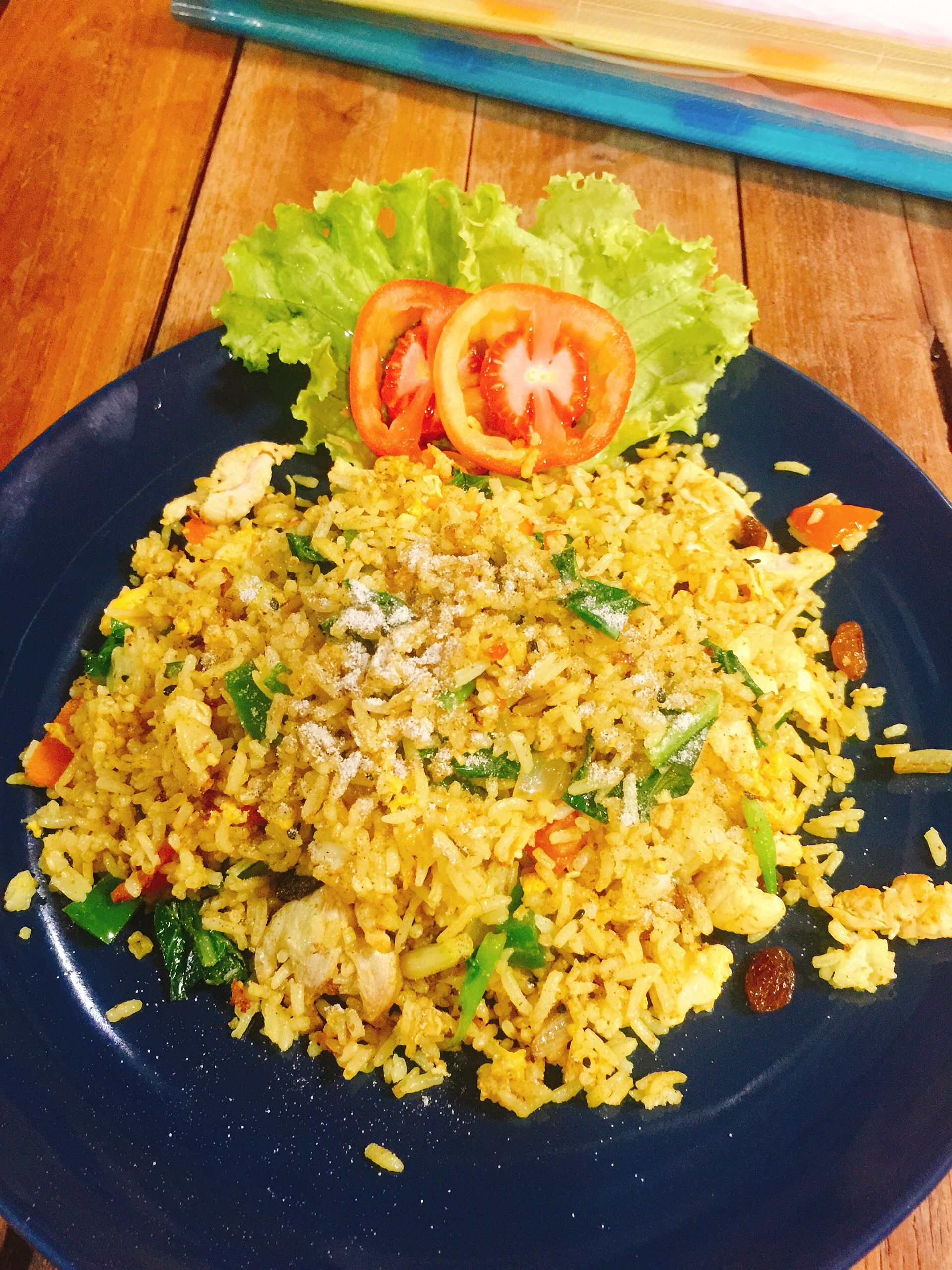 Yellow Curry Fried Rice Without Chicken Fried Rice Chicken Dinner Curry Fried Rice