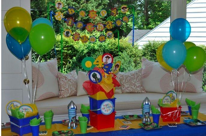 decoracion de cumpleaños toy story - Buscar con Google