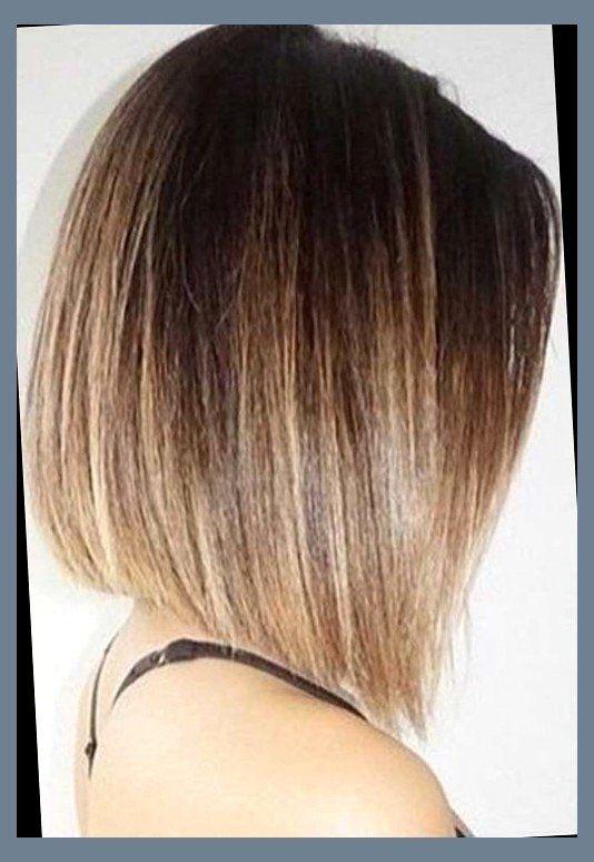 Ombre Inverted Bob Gleam Hairstyles Hair Styles Short Hair Styles Thin Hair Haircuts