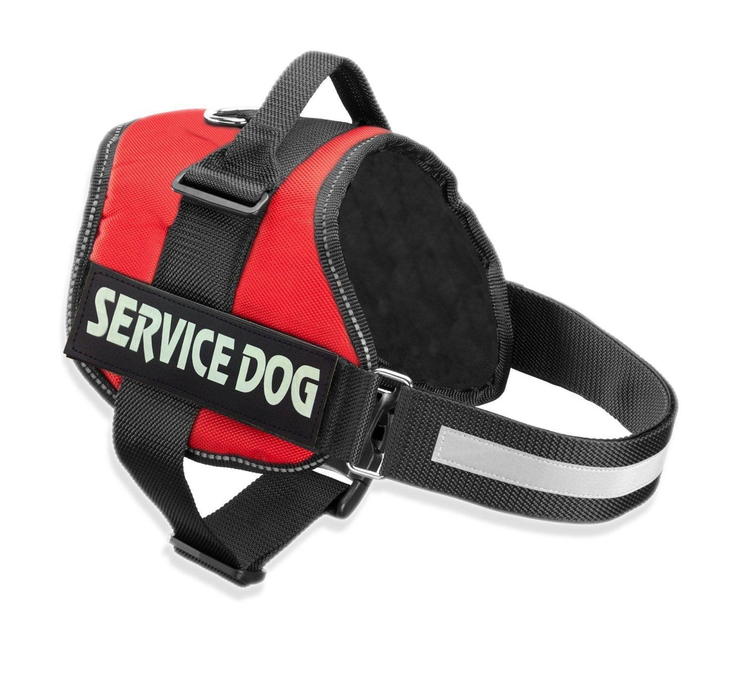 Cl Domino Service Dog Harness Security Dog Harness With Two