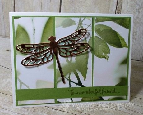 Hello Stampers   It's blog hop day with the global team for Stampin' Technique 101. This month it is the Easy Panel, I love the l...