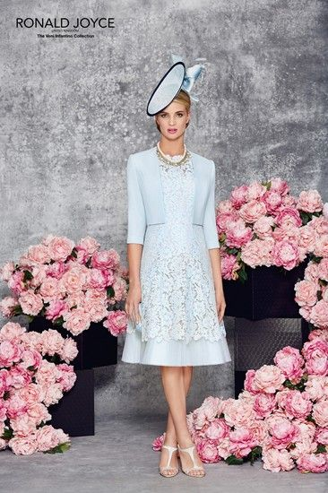 New Is Ronald Joyce 991117 From Their Spring Summer 2016 Collection This A Stylish Mother Of The Bride Dress Complete With Matching Jacket