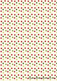 Papel de navidad para imprimir | hojas con diseño | Pinterest ...