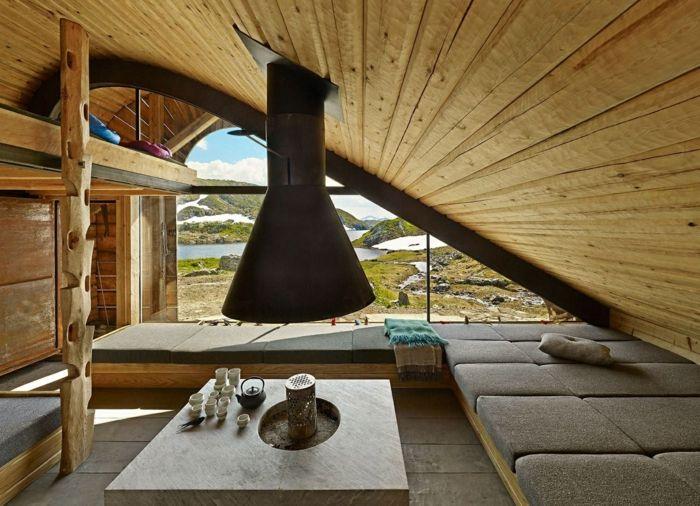 Bon Kreative Wandgestaltungholzverkleidung Innen Deko Ideen Jäger Hütte
