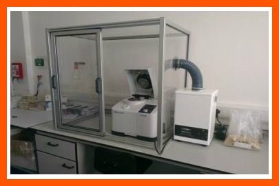 Foto Cabina Ideas : Cabina de perfil de aluminio minitec con sistema de aspiración