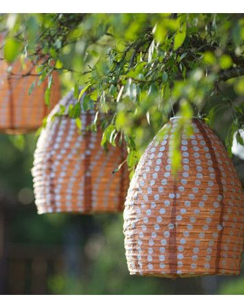 Creative lighting for your outdoor party. Soji solar beehive lantern (limited edition).