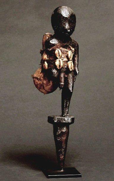 Fon, Benin, cm. 36,5 Private coll. Italy