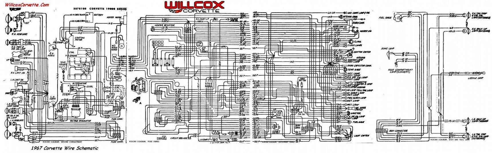 10  1974 Corvette Engine Wiring Diagram