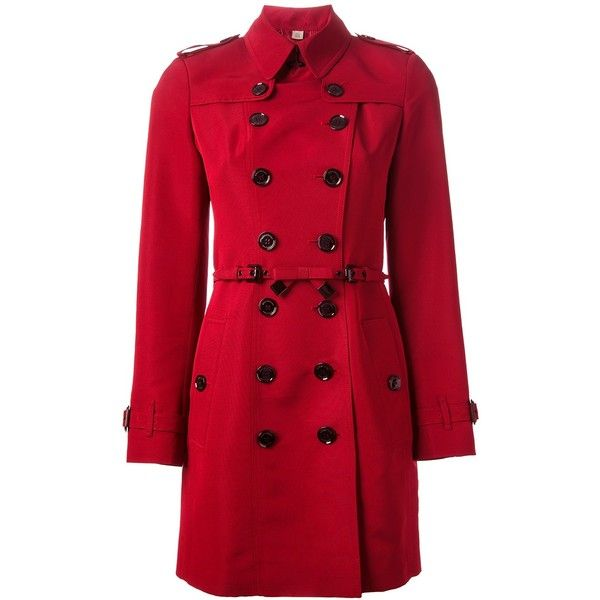 BURBERRY LONDON bow belt trench coat found on Polyvore