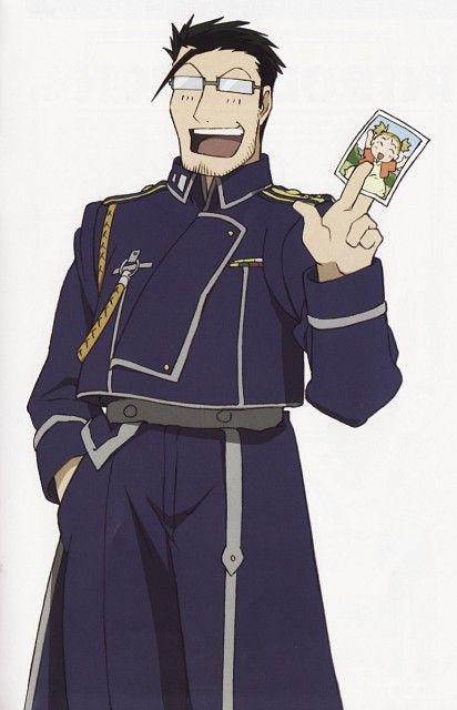 Brigadier General Maes Hughes Fullmetal Alchemist My Favorite Fma Character Fullmetal Alchemist Fullmetal Alchemist Brotherhood Alchemist