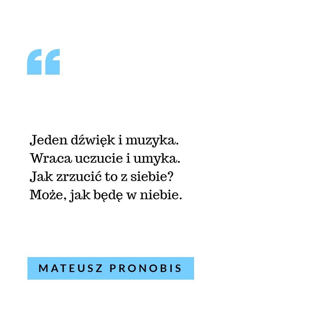 At Mateuszpronobisart Jvtrø Jvtrøbook Jeden Dźwięk I