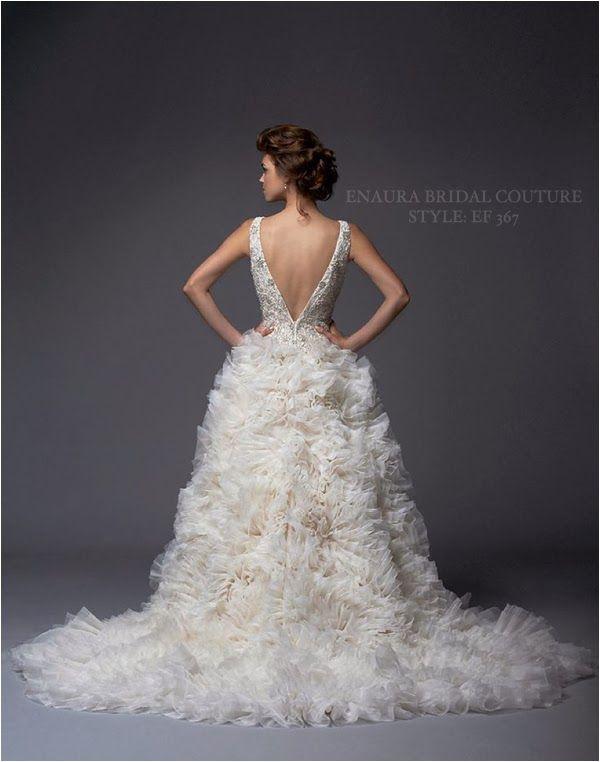 Wedding Gowns I Love: Enaura Bridal Couture via www.lemagnifiqueblog.com