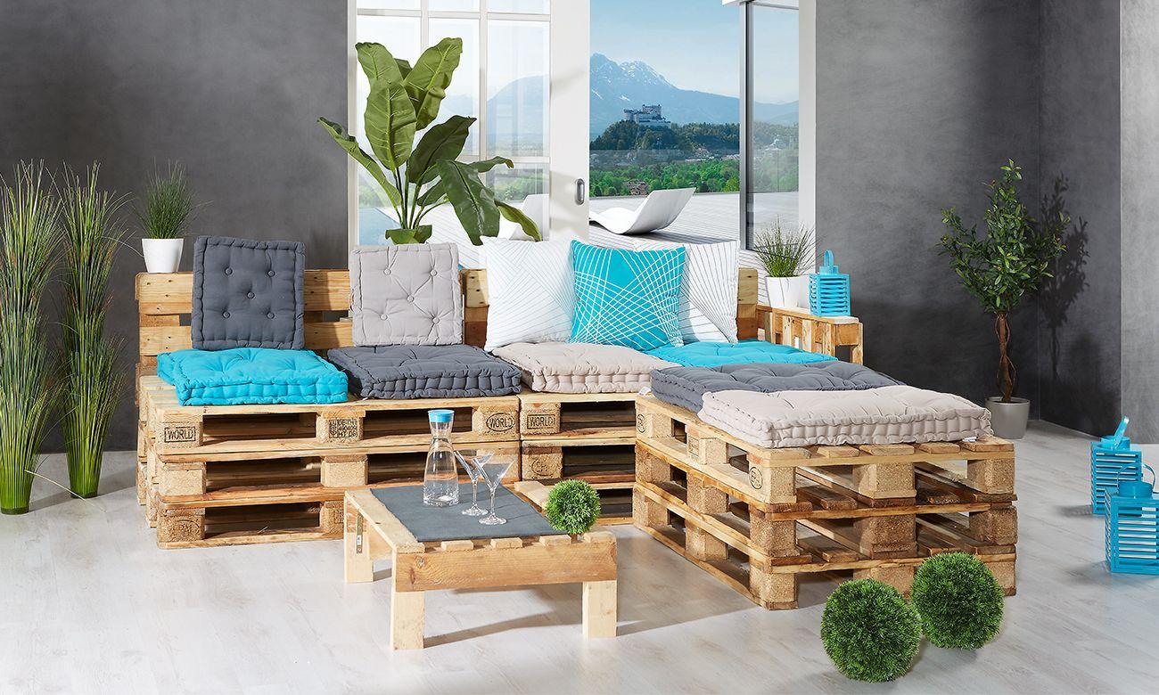 palettenm bel selber bauen ideen aus paletten f r balkon garten. Black Bedroom Furniture Sets. Home Design Ideas