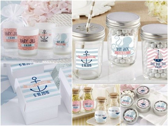 Nautical Baby Shower Favors Ideas From Hotref Babyshower Nauticalbabyshower Babyshowerfavors