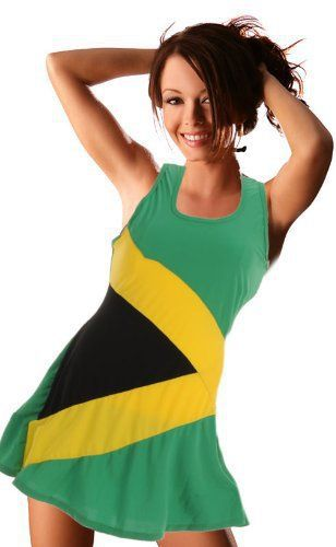 How Cute Would This Be To Wear On My Jamaican Trip In August I Love It Jamaican Clothing Jamaica Outfits Womens Dresses