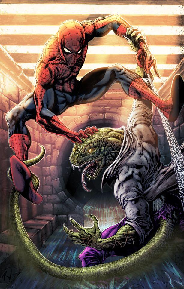 Spider-Man Vs. The Lizard | The Greats | Spiderman, Marvel ...