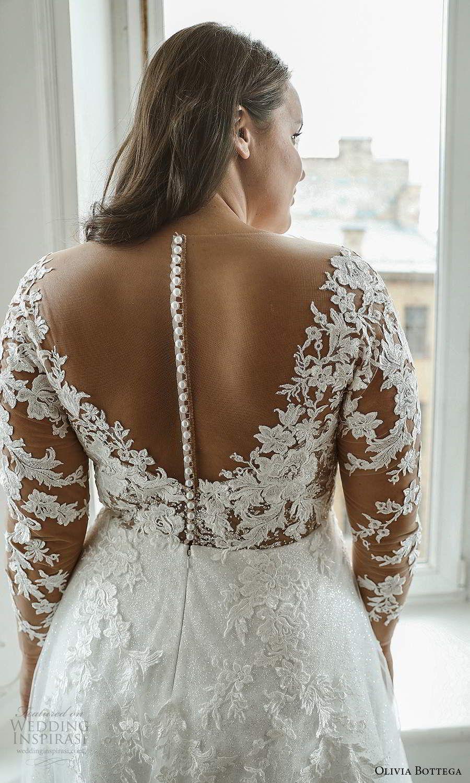 Olivia Bottega 2021 Plus Size Wedding Dresses Wedding Inspirasi Lace Wedding Dress With Sleeves Figure Flattering Wedding Dress Plus Wedding Dresses [ 1500 x 900 Pixel ]
