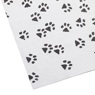 Paw Prints Tissue