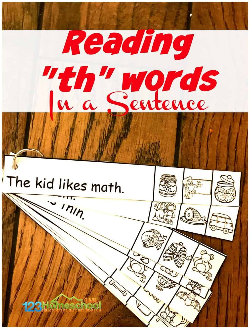 Free Th Worksheets In