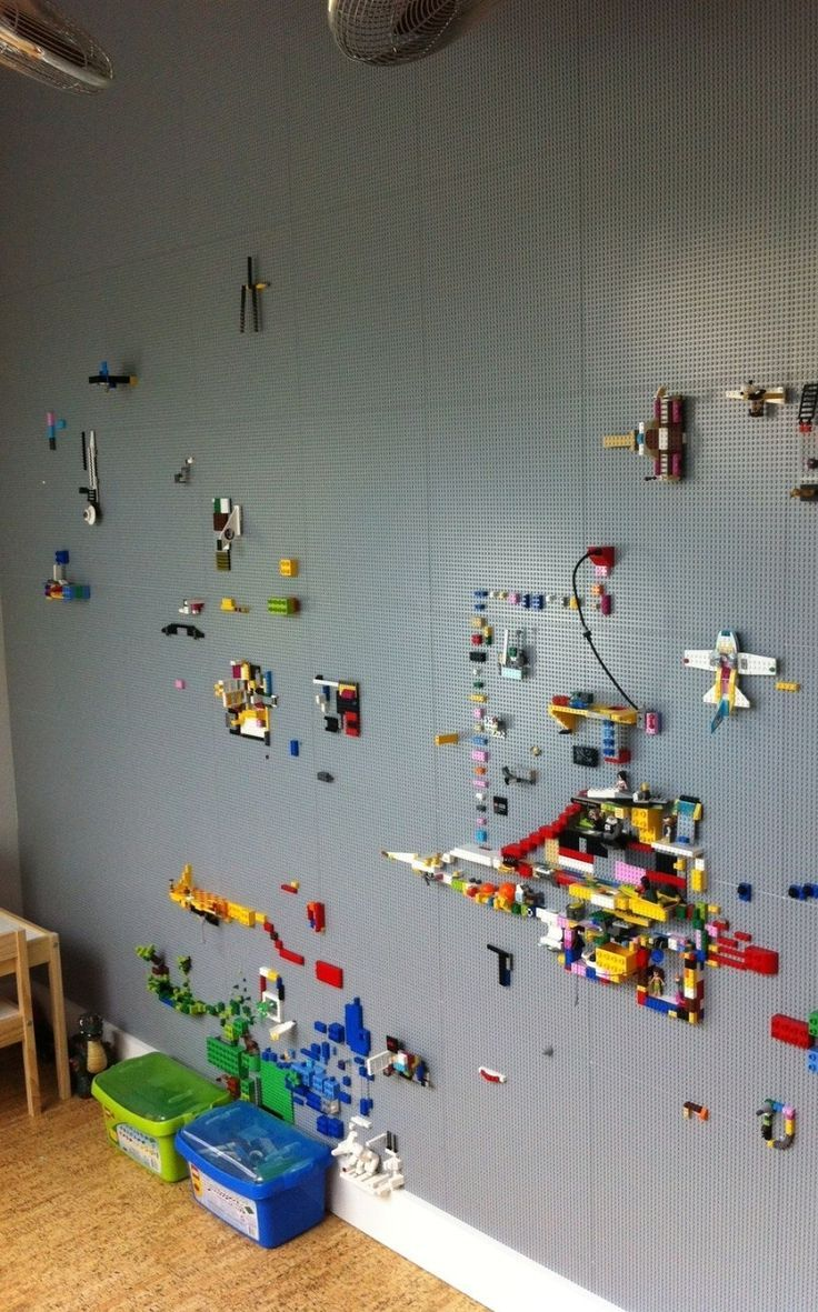 Photo of lego room decoration