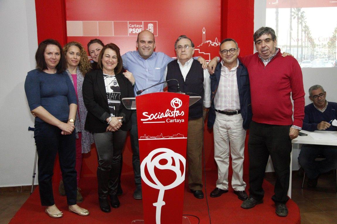 PSOE de Cartaya amplía su candidatura hasta los 27 miembros