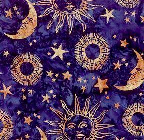 love this fabric | Moon art, Sun moon stars, Moon pattern