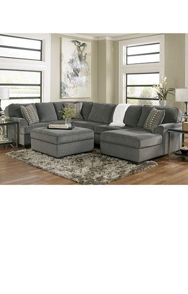 Aegrus Las Vegas Grey Sectional Sleeper Couch Maladot
