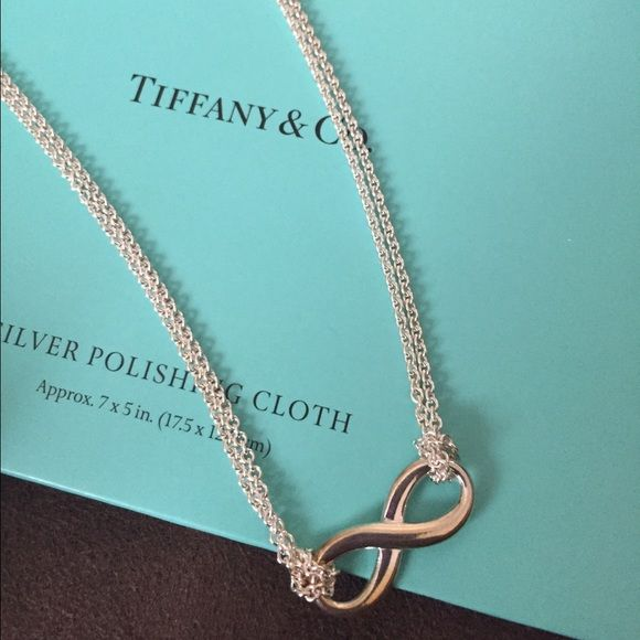 9bc17ddde Tiffany's Infinity Necklace On Sale!!! NEW!!!! 18 inch necklace. Brand new.  Never worn. Received as a gift. Tiffany & Co. Jewelry Necklaces