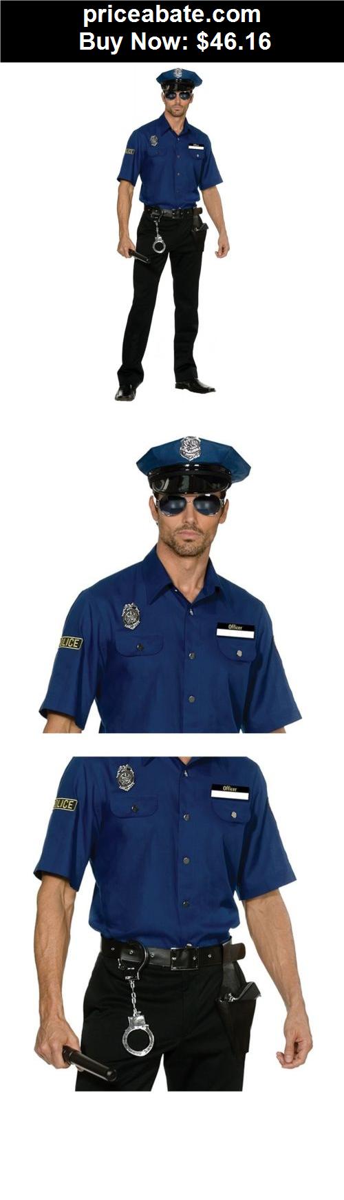 Men-Costumes Police Costume for Men Adult Cop Halloween Fancy Dress - BUY IT  sc 1 st  Pinterest & Men-Costumes: Police Costume for Men Adult Cop Halloween Fancy Dress ...