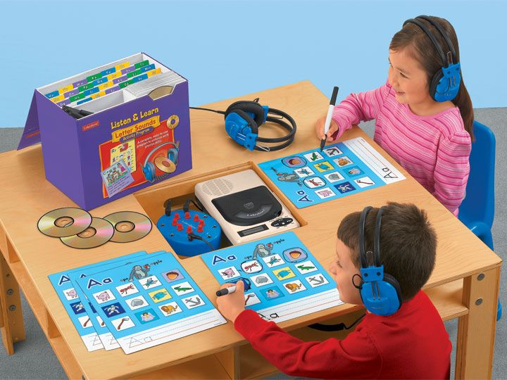 Listen And Learn With Phonics Reading Program Kit