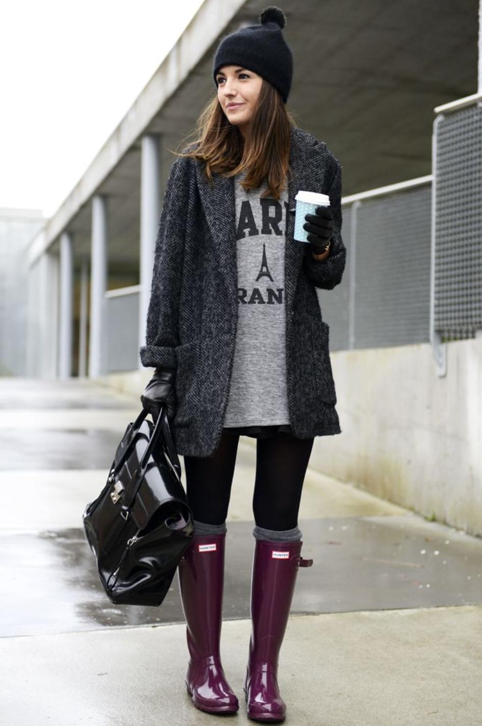 botas de lluvia outfit - Tìm với Google