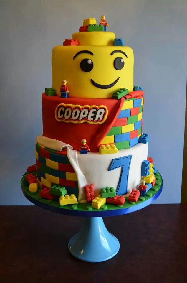 Magnificent Lego Cake With Images Lego Birthday Cake Birthday Cake Kids Funny Birthday Cards Online Barepcheapnameinfo
