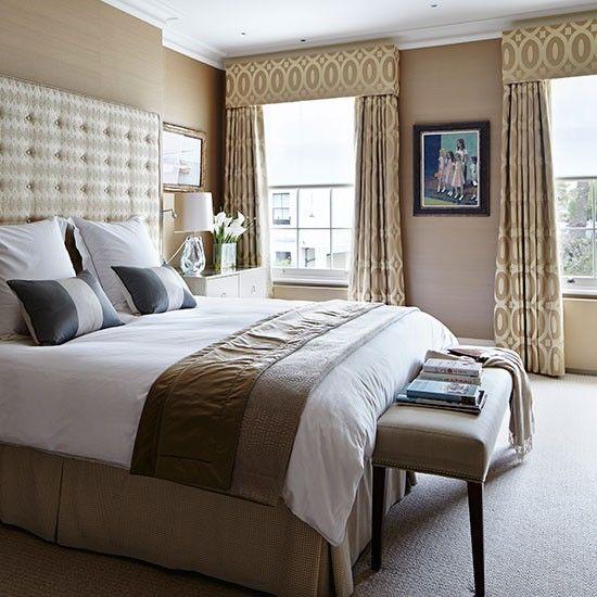 tonal braun und beige schlafzimmer wohnideen living ideas ideen rund ums haus pinterest. Black Bedroom Furniture Sets. Home Design Ideas