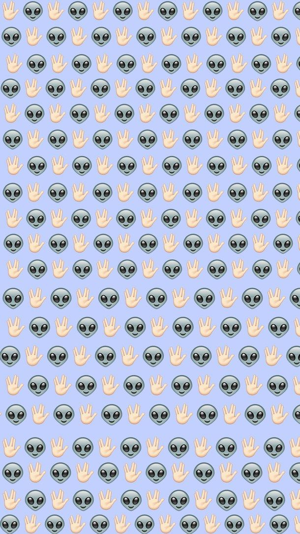alien, background, emoji, iphone, iphone wallpaper, tumblr ...
