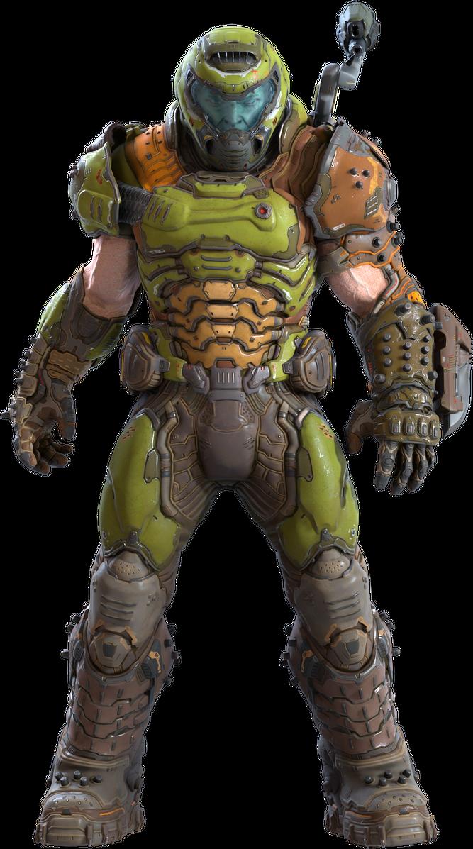 Doom Slayer By Yare Yare Dong On Deviantart Slayer Doom Doom 2016
