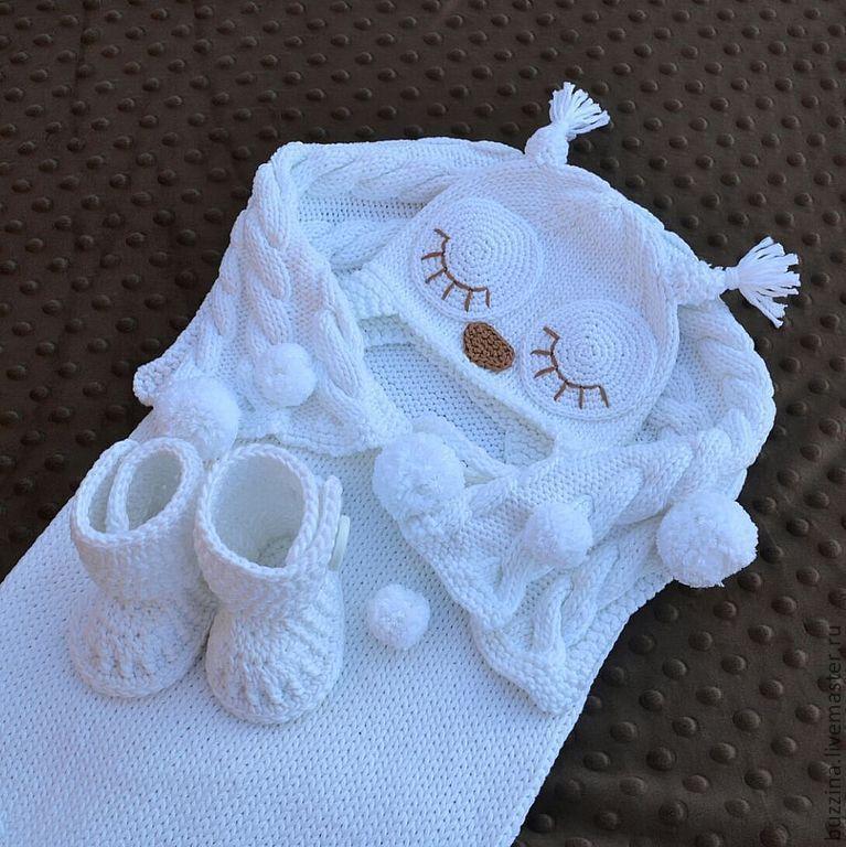 вязанные конверты для новорожденных на выписку 19 тыс изображений