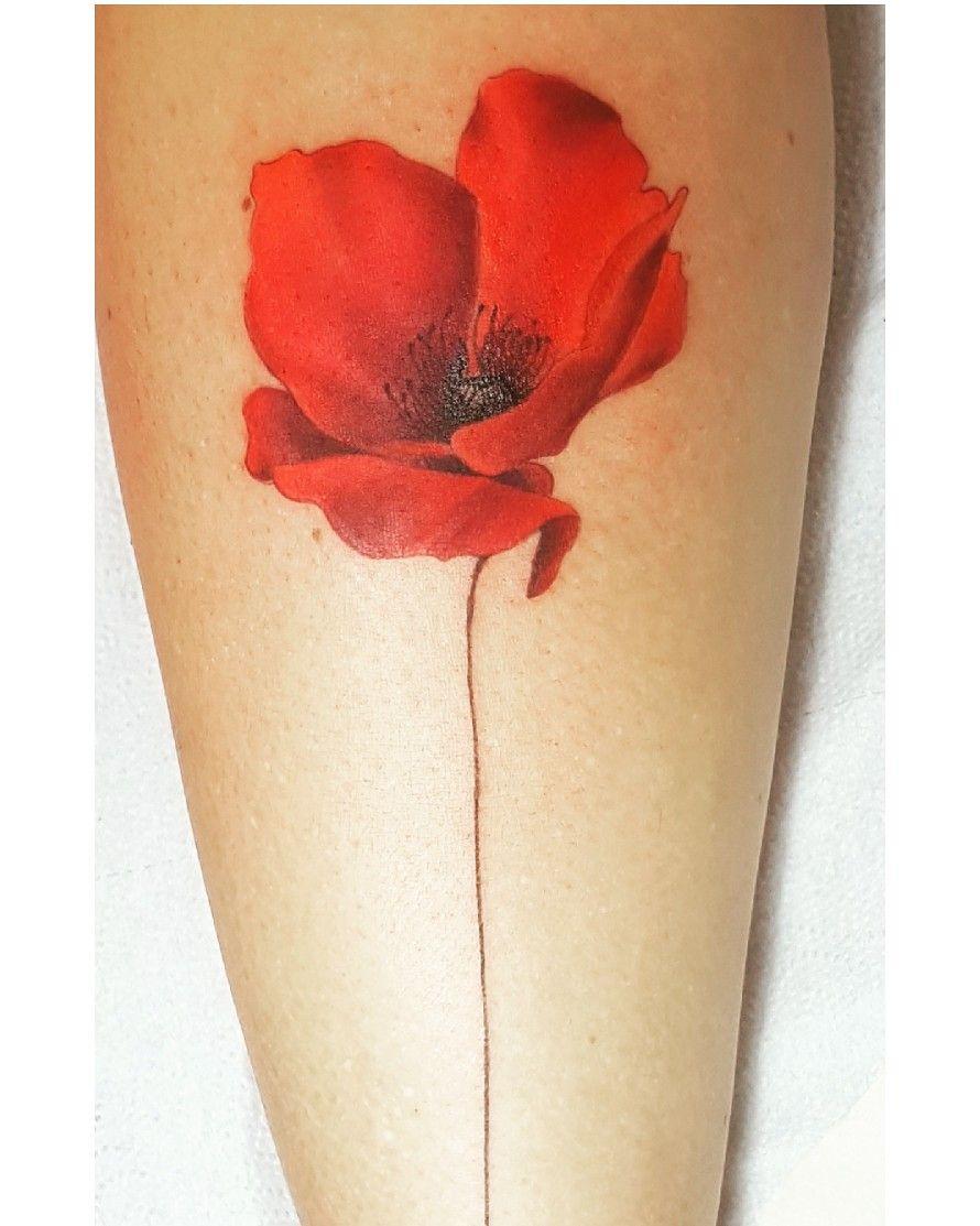 My Wonderful Poppy Tattoo Amazing Poppy Tattoo Tatouage