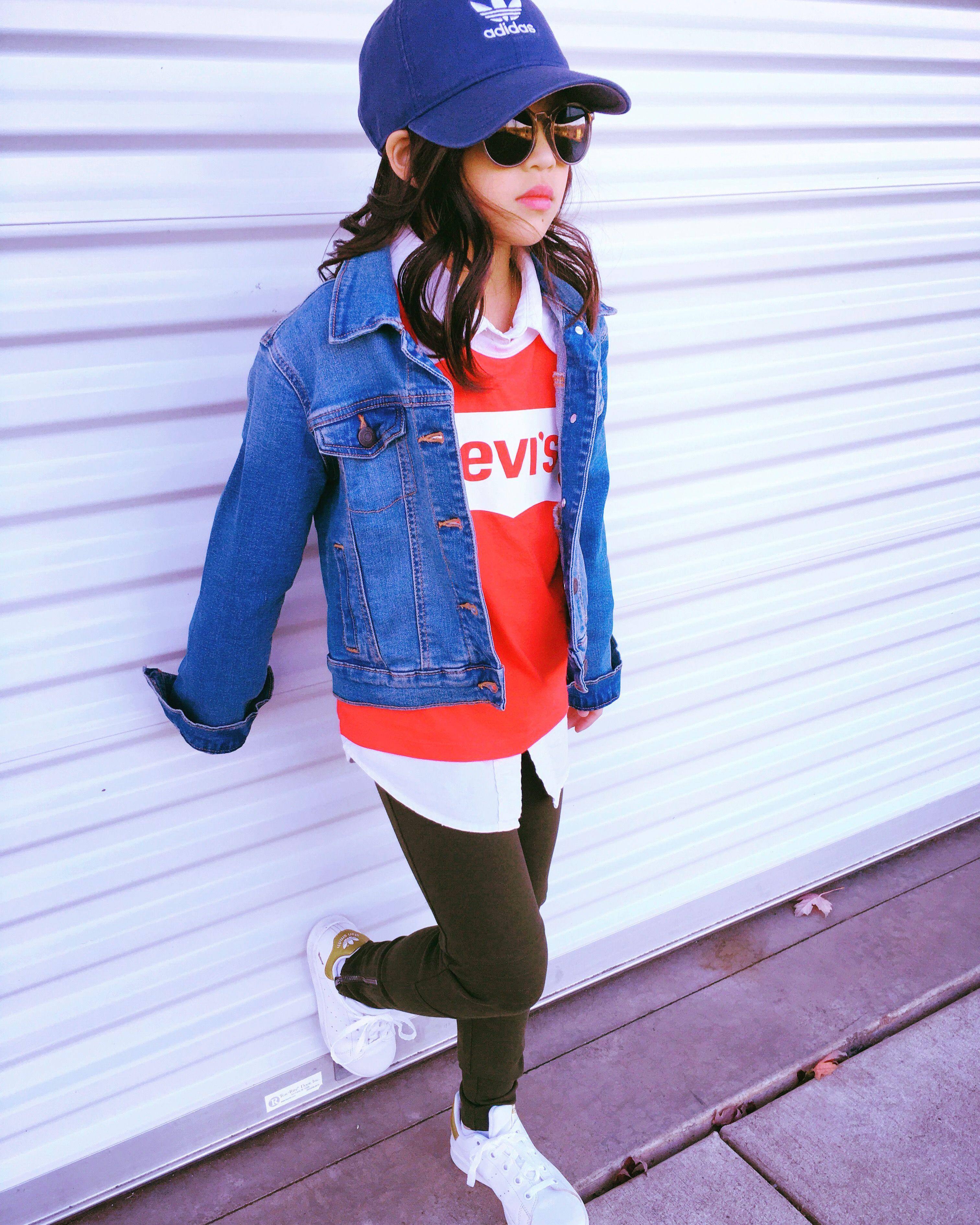 Levi S Denim Jean Jacket Outfit Jean Jacket Outfits Adidas Outfit Denim Jean Jacket Outfits [ 3780 x 3024 Pixel ]