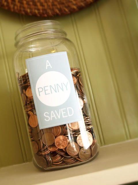 Pin By Krystal Mills On 4 H Save My Money Penny Jar Money Saver