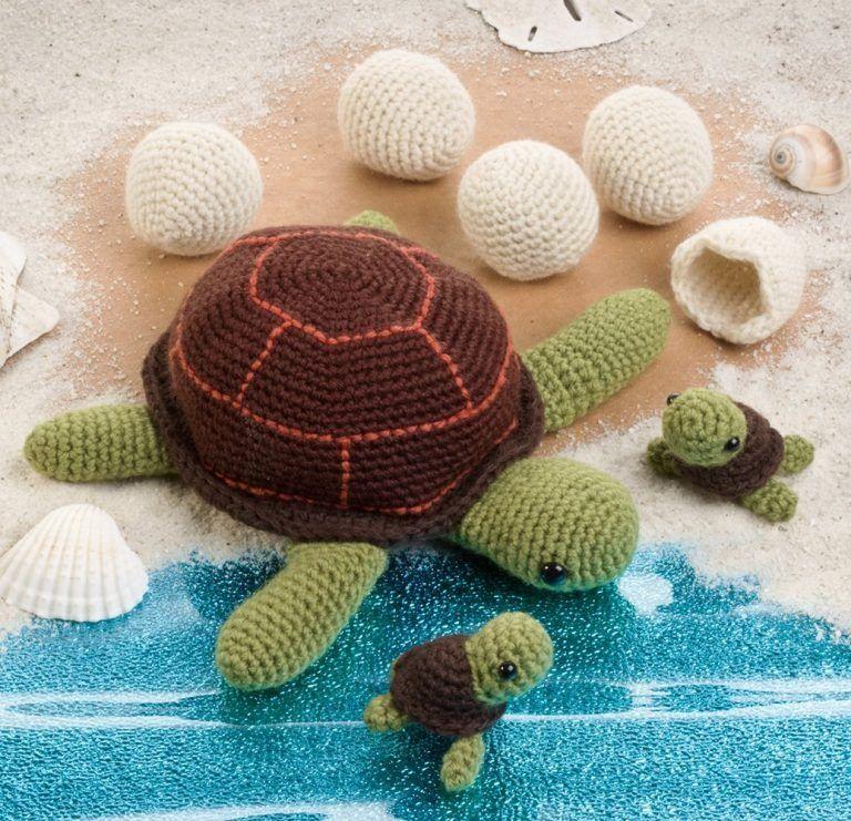 Amigurumi Sea Animals : Sea Creatures: Amigurumi Crochet Pattern Books CRAFTS ...