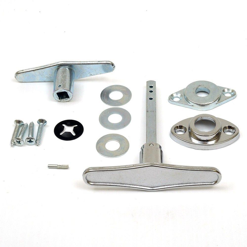 Garage Door Lock T Handle Assembly No Keys Rp 9 95 Sp