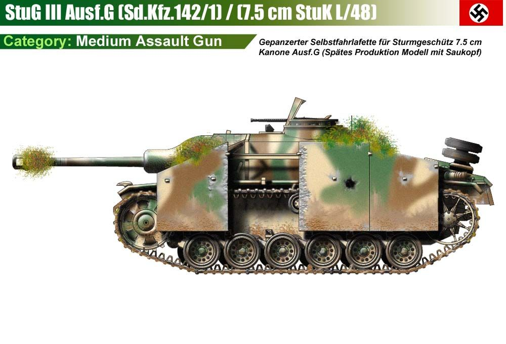stug iii ausf g mit saukopf ww ii germany military land. Black Bedroom Furniture Sets. Home Design Ideas